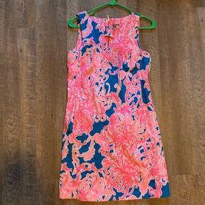 Taylor Pink & Blue floral dress